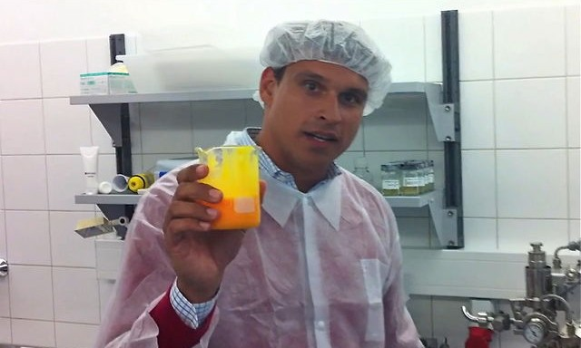 Cremeproduktion im Labor
