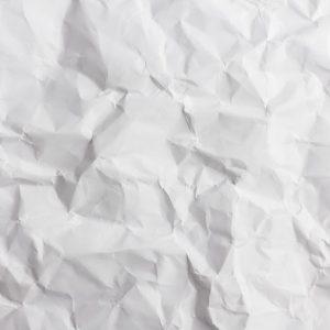 Knitteriges Papier