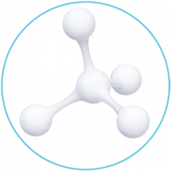 Cremestruktur Molekuel