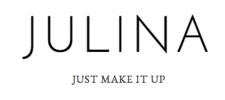 Julina just make it up Logo