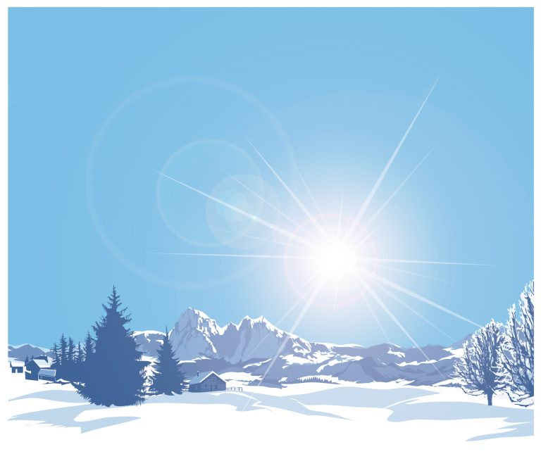Sonnencreme für den Schnee